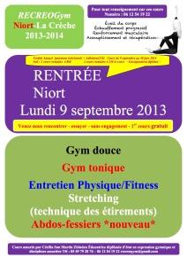 Affiche Niort saison 2013-2014
