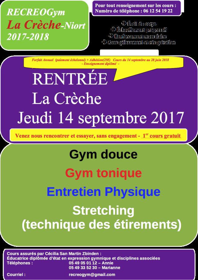 Affiche La Crèche saison 2017-2018